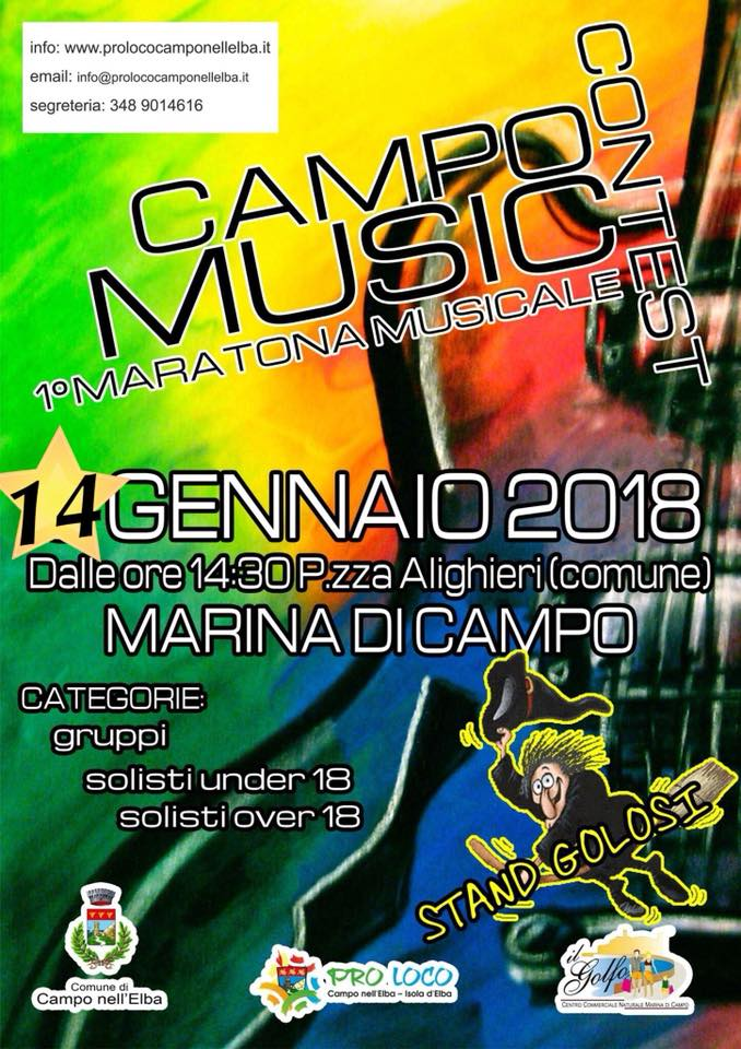 music contest elba